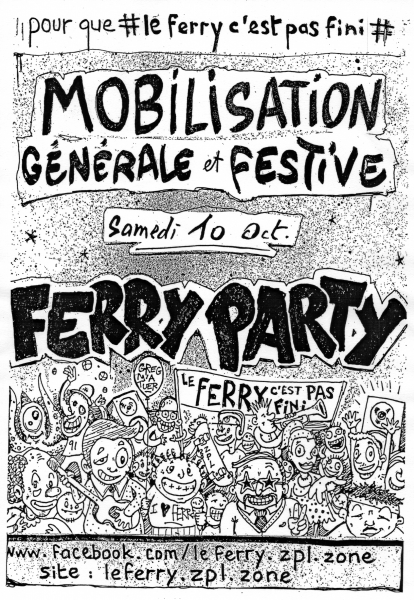 Ferry Party 10-10-2015 (Affiche)