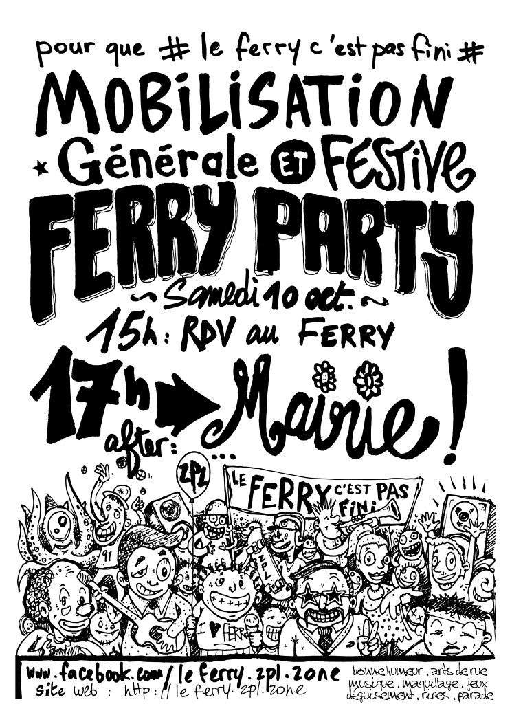 Flyer Ferry Party - 10/10/2015